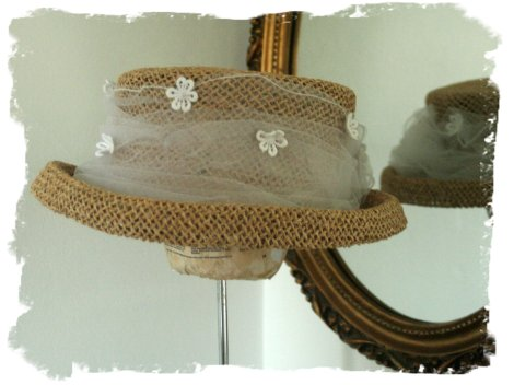 ruth's wedding hat  a