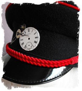 Something for you military cap wearers this is 'Time Ccrew'