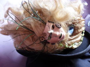 and for the elemental types, fragmented dolls head with adornments £65 plus P&P