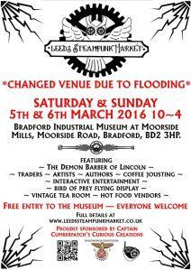Bradford Industial Musuem Steampunk Event
