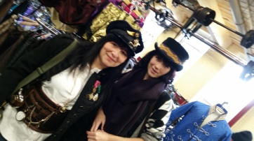bring your friend along for a hat outing...