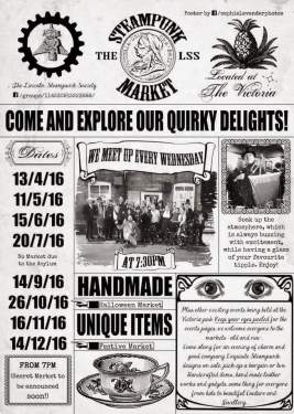 All the dates for these merry events