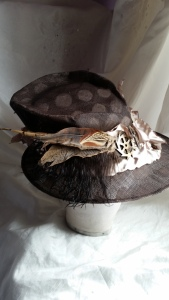 Mad hatter Time, Steampunk inspired hat with a twist