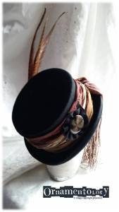 Elegant Feathered Top Hat £52 + p&p