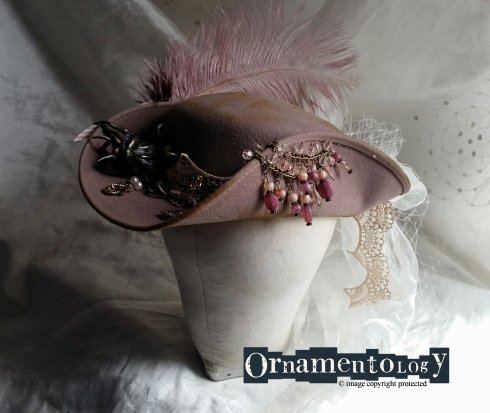 Steampunk Pirate Tricorn Hat for your bling adventures £40 +p&p