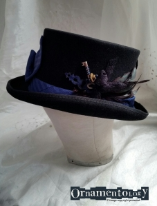 Blue Ties Keeper #steampunktophat
