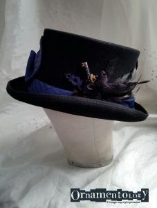 Blue Ties Keeper #steampunktophat