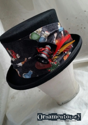 Bring out your inner Alice with this little gem of a top hat